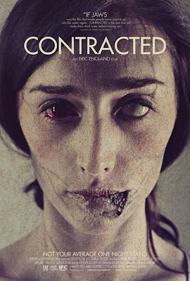 Contracted zombie movie poster