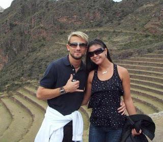 Melissa García y Guti en Machu Picchu (Cuzco-Perú)