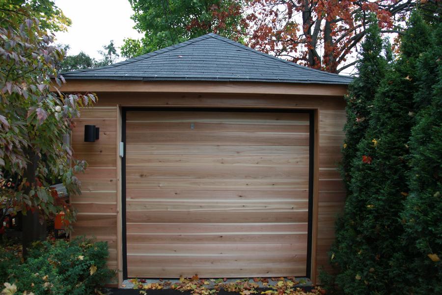 8footsix Cedar Garage
