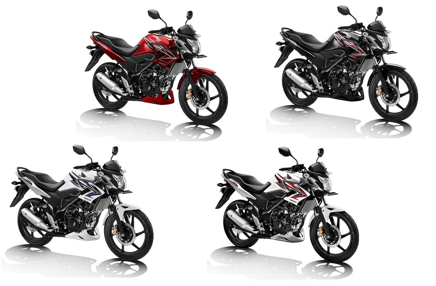 Honda CB150R StreetFire Color Options