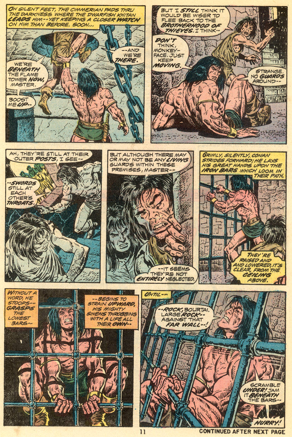 Conan the Barbarian (1970) Issue #34 #46 - English 8