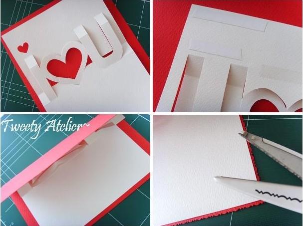 Сделать красивую открытку объемную 5