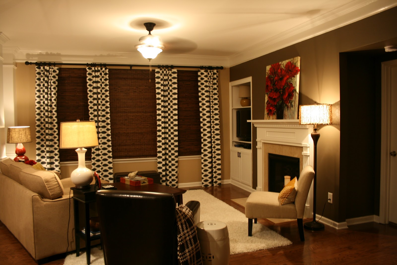 the bozeman bungalow: Living Room Accent Wall...