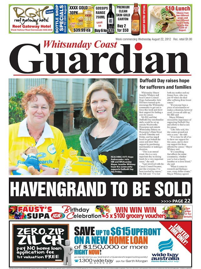 Whitsunday Coast Guardian