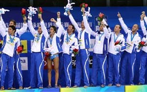 Italy  - World Champion Men, Shanghai 2011