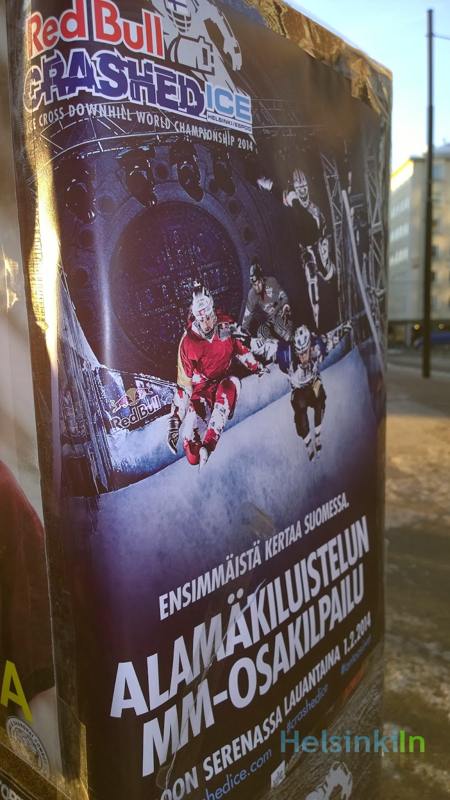 Red Bull Crashed Ice Espoo