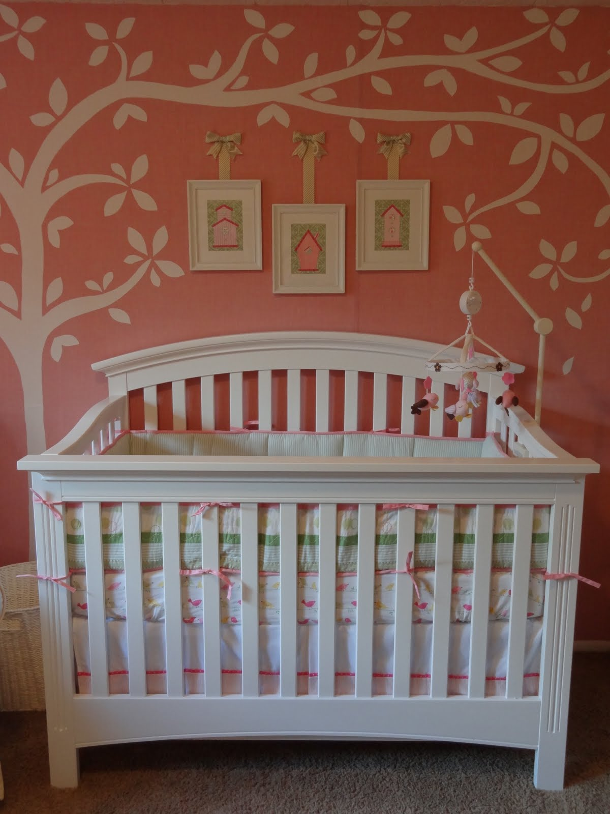 Numbered Street Designs Adorable Baby Girl Nursery