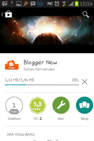 Cara NgeBlog Di Android Dengan Blogger Terbaru