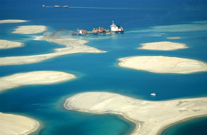 Man Made Islands in Dubai