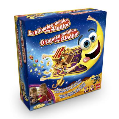 JUGUETES - La alfombra mágica de Aladino  Juego de Mesa | Goliath 2015 | Jugadore : 2 | Edad: +4  Comprar en Amazon España