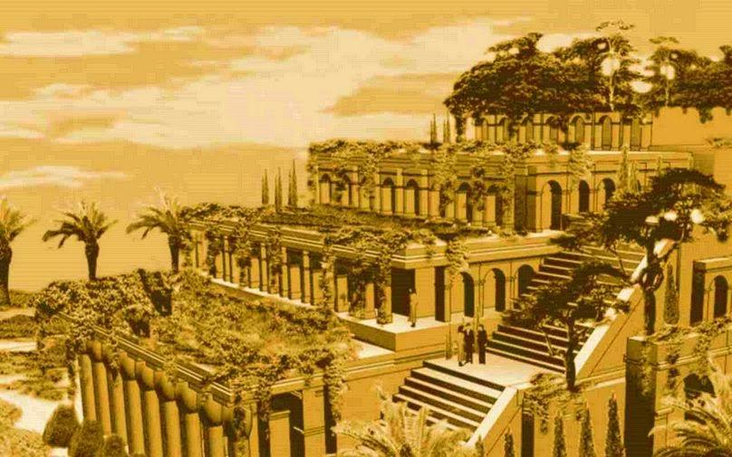 ilclanmariapia: I giardini pensili di Babilonia