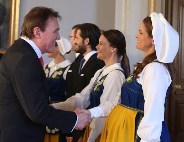 Crown Princess Victoria and Prince Daniel, Prince Carl Philip and Sofia Hellqvist, Princess Madeleine
