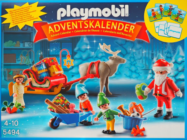 playmobil advent calender