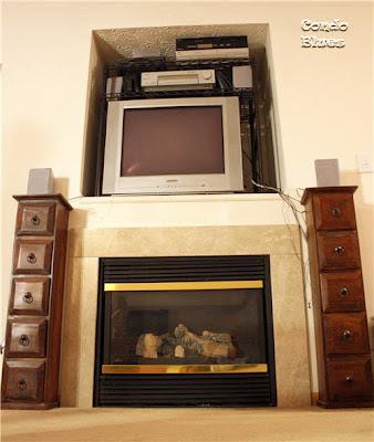 TV niche Before