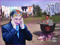 Funny photo Flacara Violet
