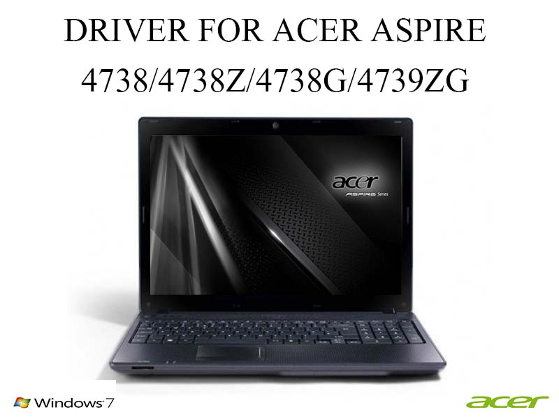 Acer Aspire 4738z Drivers Download