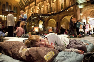 Λάρισα: Παιδιά περνούν τη νύχτα τους στο Μουσείο