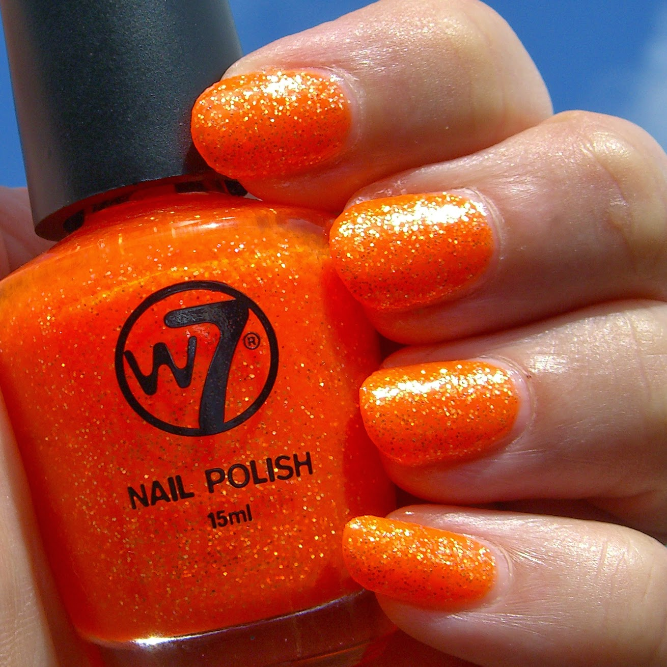 Polish, Plants & More....: W7 - Orange Dazzle