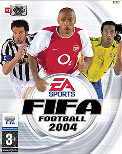 Fifa Football 2004 Game Cover