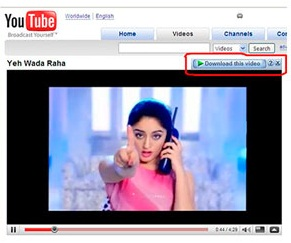 download video di YouTube lebih mudah