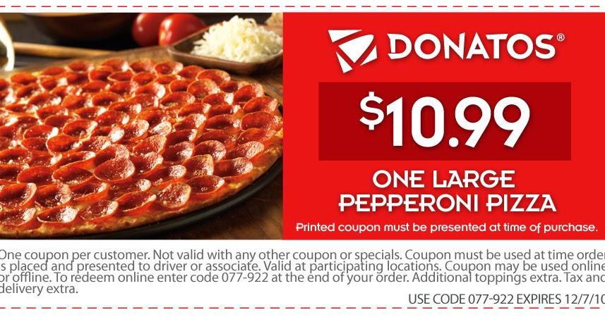 image relating to Printable Donatos Coupons identify donatos coupon codes -