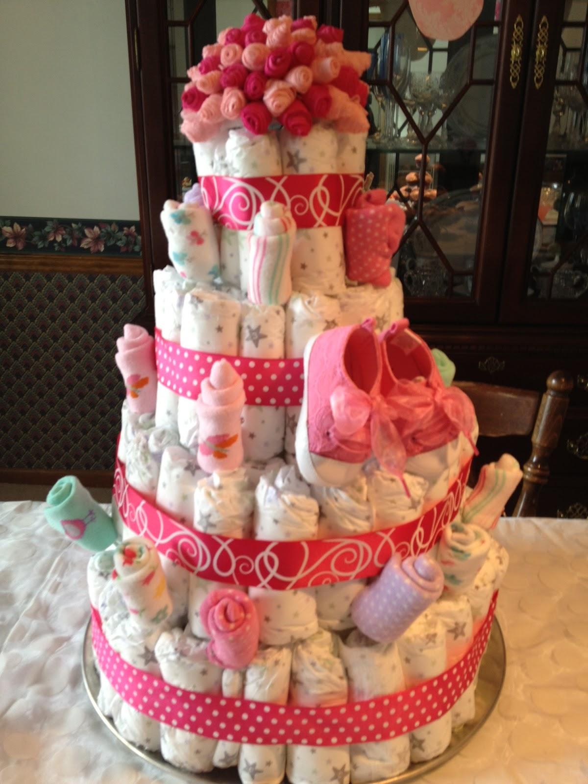 Texas Health Moms DIY pink baby shower