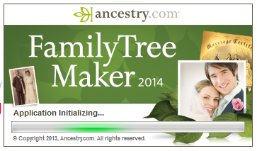 -Musings: First Look at Family Tree Maker 2014 - Post 1: Family View