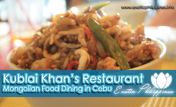 Kublai Khans Restaurant Cebu