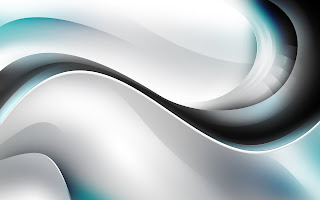 Blue Black Abstract Curve HD Wallpaper