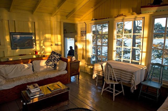 Nova Scotia, LaHave River, cabin, rustic