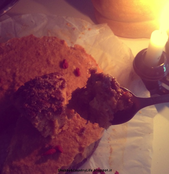 { Halloween Raw Pumpkin Pie } - shabbyecountrylife.blogspot.it