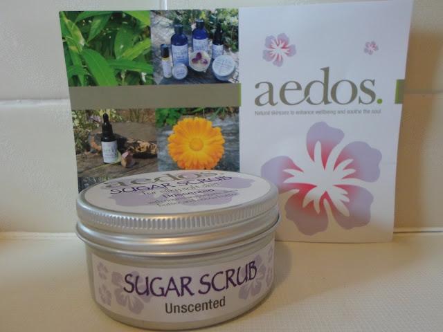 Aedos Unscented Sugar Scrub