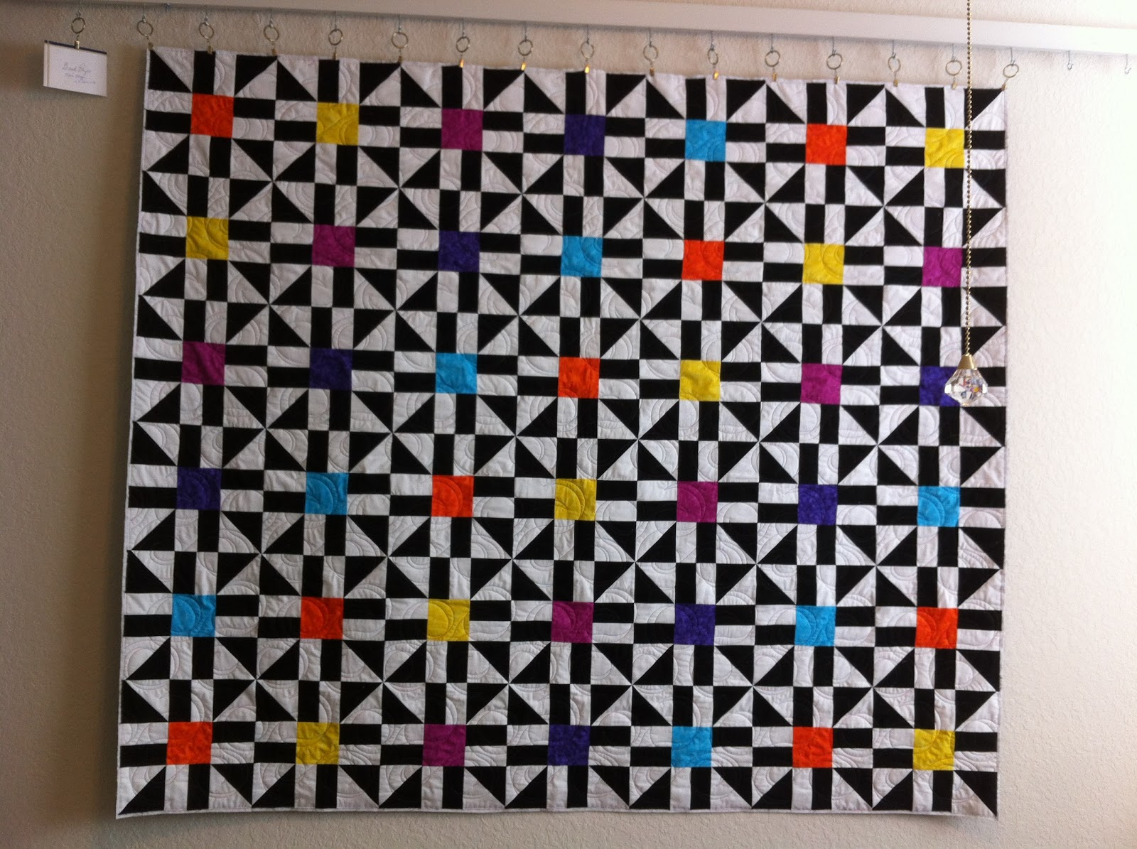 Design Wall Quilts Retractable : Suzy s quilting room design wall monday aka status on