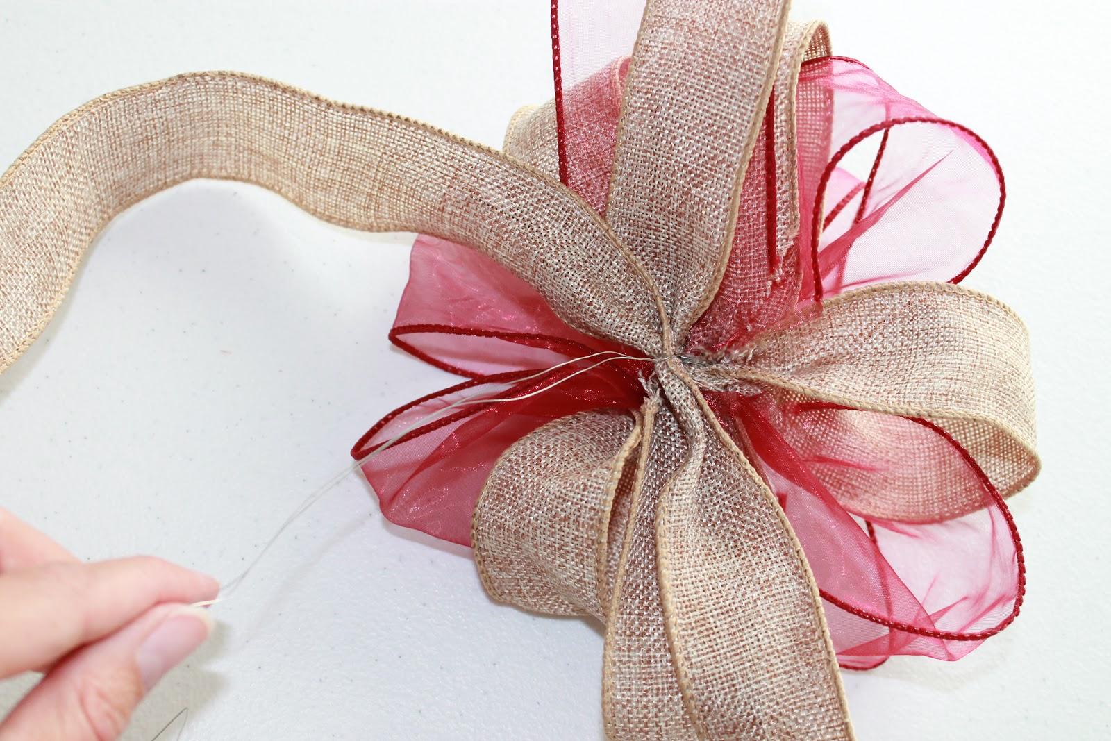 Embroitique How To Make Big Decorative Bows A