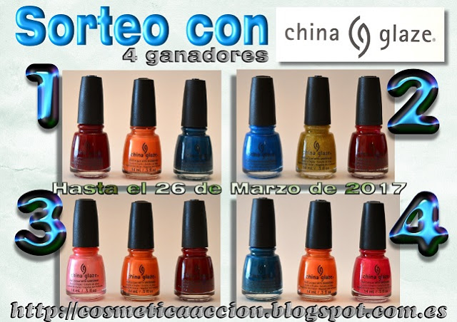 sorteo de china glaze