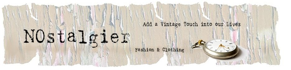 NOstalgier Vintage Retro Mode Blog