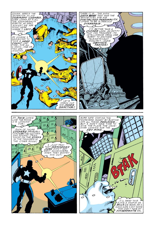 Captain America (1968) Issue #354 #286 - English 4