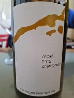 16 Mile Rebel Chardonnay 2012 from VQA Niagara Peninsula, Ontario, Canada (88+ pts)