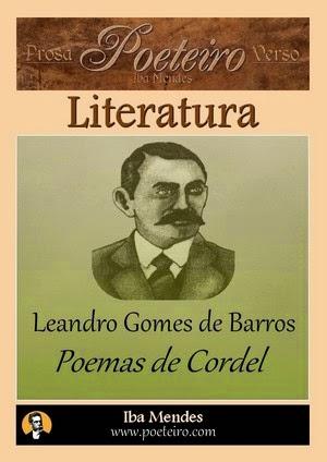 Poemas de Cordel (Literatura de Cordel), Leandro Gomes de Barros