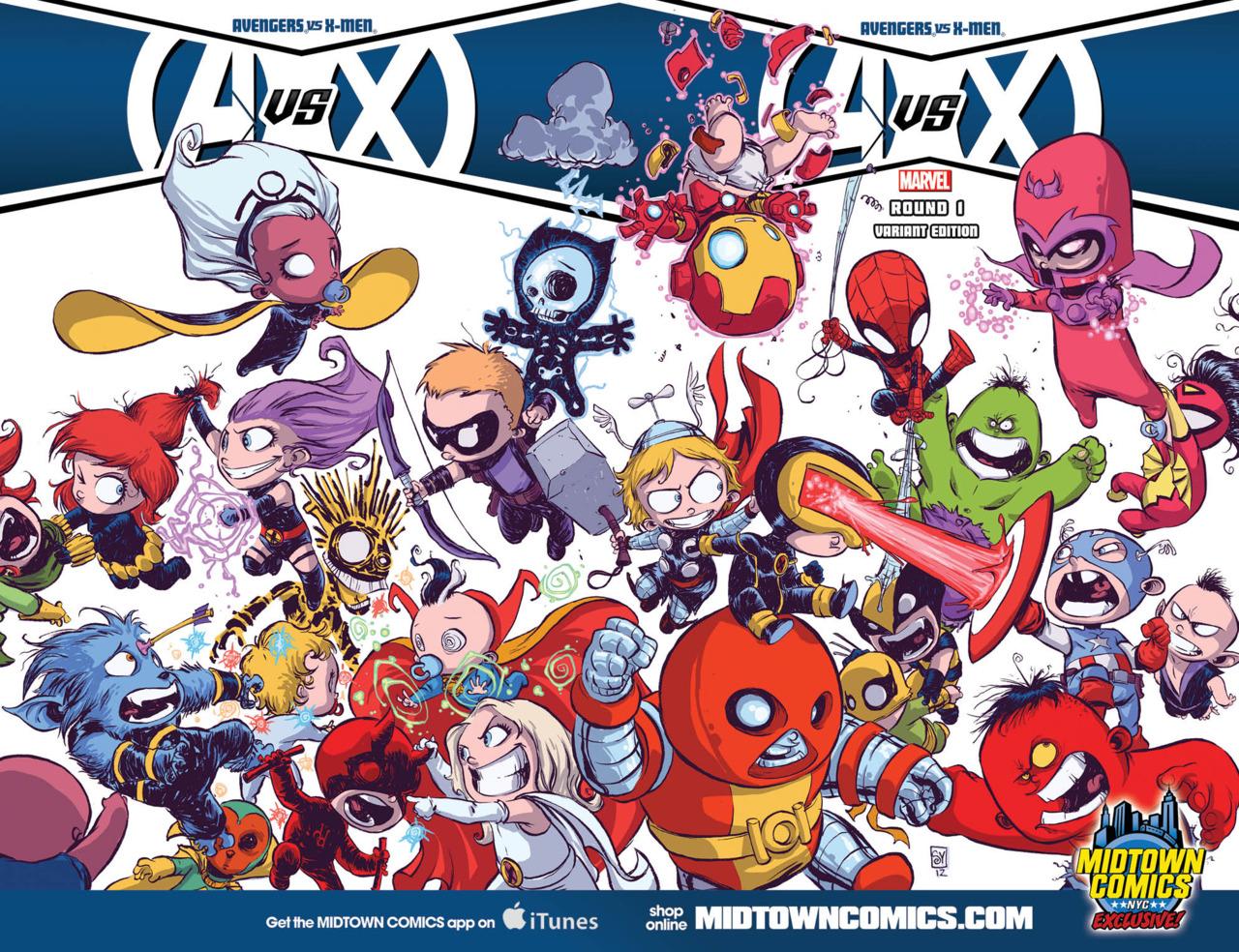 Avengers Vs X Men 12 Cbr