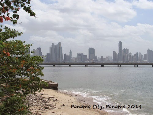 View of Panama City, Panama