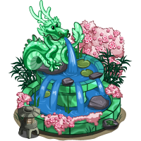 Jade Dragon Fountain
