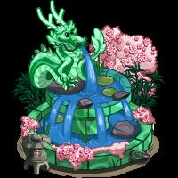 Jade Dragon Fountain