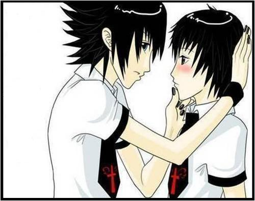 kusno dan sukron  cute emo love anime