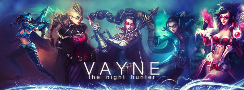 Vayne League of Legends Facebook Cover PHotos
