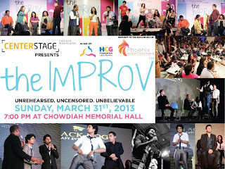 The Improv Comedy Night on 31st March 2013