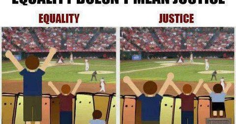 Equality Doesnt Mean Justice >> Equality Doesn T Mean Justice Anonymous Art Of Revolution