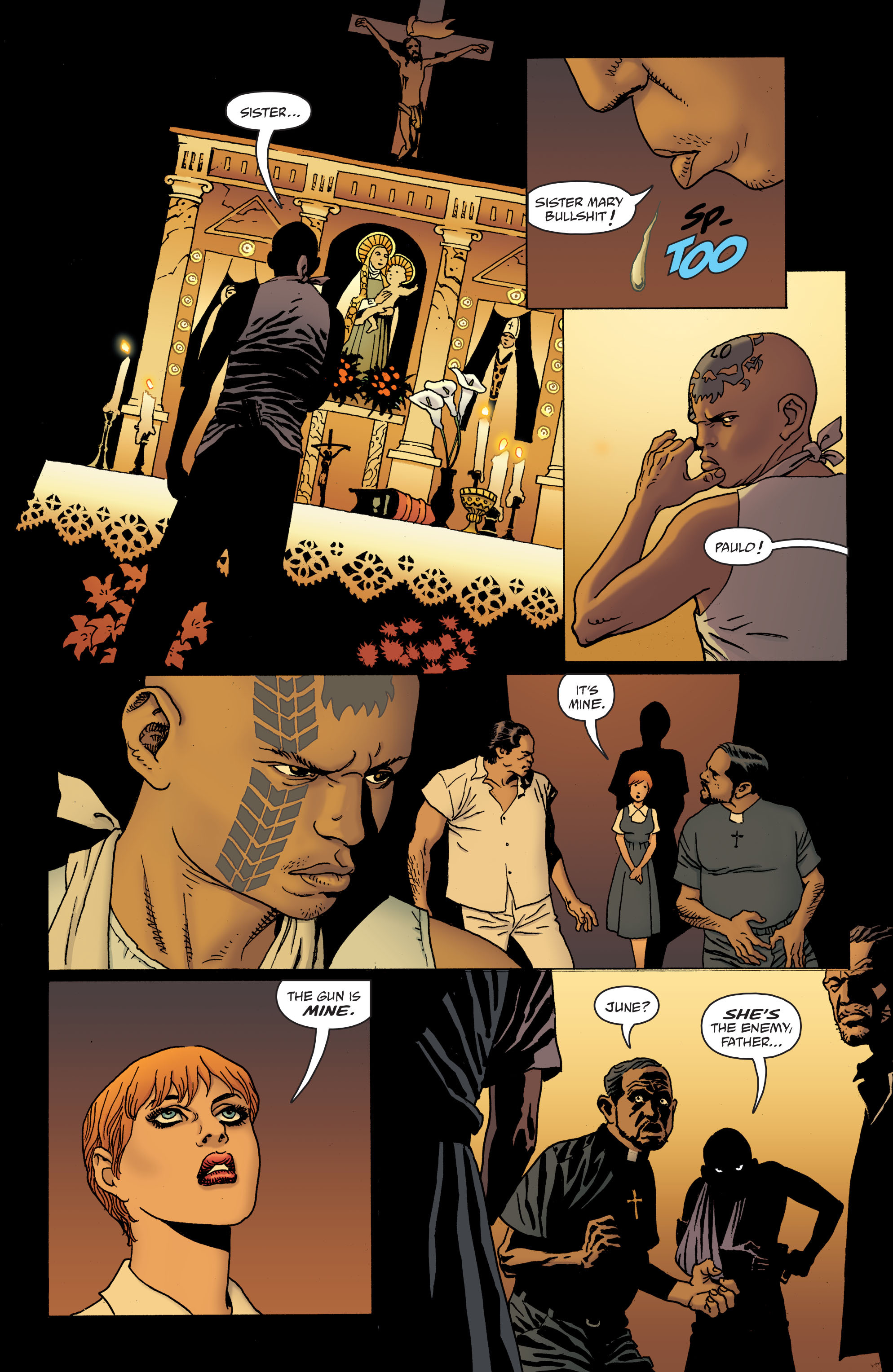 100 Bullets: Brother Lono Full Page 127