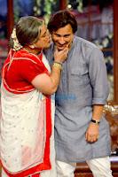 Saif Alikhan promotes 'Bullett Raja' on Comedy Nights with Kapil