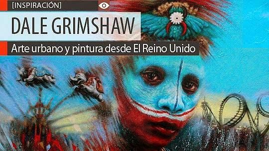 Arte urbano y pintura de DALE GRIMSHAW